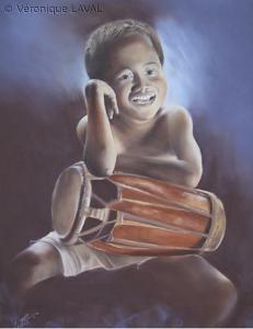 L'enfant au tam-tam